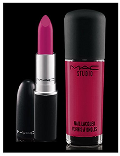 M.A.C AMPLIFIED CREME LIPSTICK AND STUDIO NAIL LACQUER - GIRL ABOUT TOWN (Mac Girls About Town)