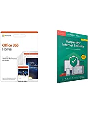 Microsoft Office 365 Home multilingual + Kaspersky Internet Security 2019 Upgrade 5 Geräte
