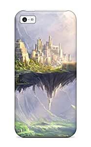 Iphone 5c Case Slim [ultra Fit] Fortress Fantasy Protective Case Cover