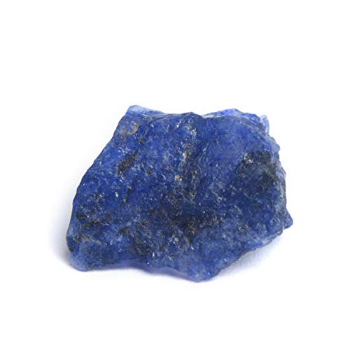 Natural Raw Rough Gemstone 17.00 Ct Rare Blue Sapphire Loose Gemstone for Reiki and Energy Crystal