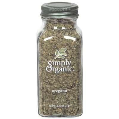 Simply Organic Oregano .75 Oz (Pack of 6)