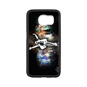 Fashional Style Design Michael Jackson Hard Plastic Case For Samsung Galaxy S6 Best Futures (1)