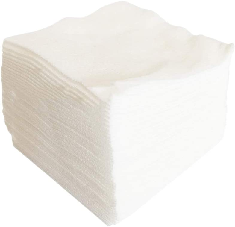 Garneck 200PCS Medical Non Woven Gauze Sponge Wound Care First Aid Supplies Medical Supplies for Home