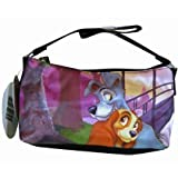 Lady and the Tramp Black Nylon Hobo Handbag by Disney