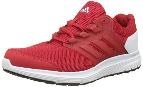 M 3 FTWBLA Hombre 1 4 ESCARL EU Galaxy Rojo Running Zapatillas 45 de Rojo ESCARL adidas nxpEqY6PP