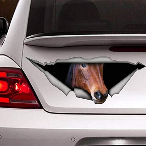 Animal Horse Car Sticker Window Door Laptop Bumper Van Vinyl Home Decal Decor