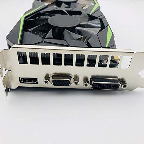 HibiscusElla Green Game Accessori Scheda Video di Gioco Scheda Video 1050TI 4G 128BIT DDR5 Geforce 1050 Ti