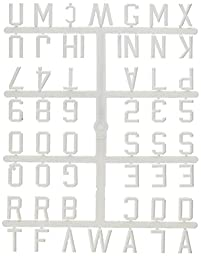Ghent Letterboard Letters, 1\