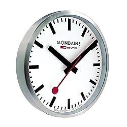 Mondaine A990.CLOCK.16SBB Wall Clock White Dial