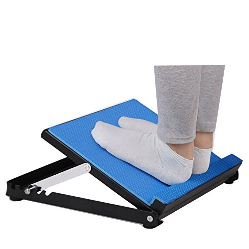 Helang Slant board-Adjustable 4 Degree Slant Board for Stretching Exercise Fitter First Slant Board For Ankle Incline Board Leg Muscle Stretch - Rock Ankle Exercise Board