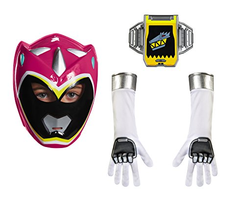 Power Rangers Costumes Accessories (Disguise Pink Ranger Dino Charge Child Accessory Kit Costume)