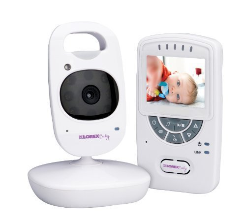 Lorex BB2411 2.4 Sweet Peek Video Baby Monitor with IR Night Vision and Zoom, White Style: Moniter with One Camera, Model: BB2411 (Tools & Outdoor gear supplies) - Lorex Model