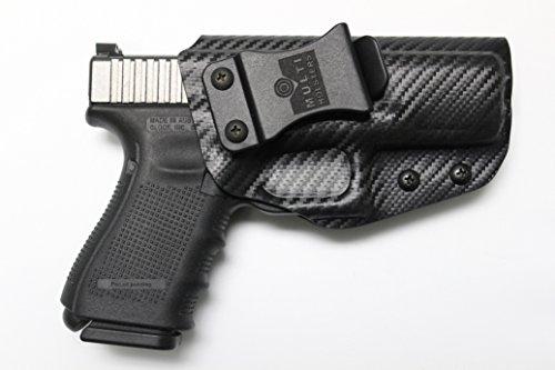 Multi Holsters Elite Glock 19/23/32 IWB FOMI Right-Hand Holster (Black Carbon Fiber)