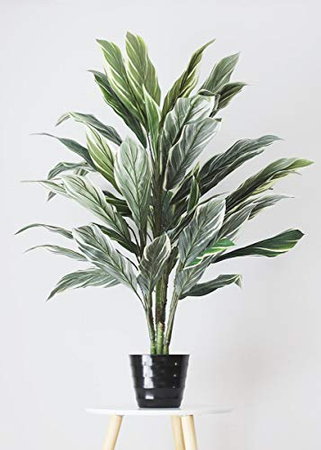 Artificial Potted Cordyline Palm Floor House Plant - 40