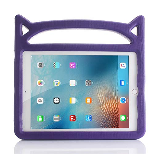 Vansee❤❤for iPad 6th Gen 9.7'' 2018/5th Gen 9.7'' 2017/Pro 9.7'' Stand Shell Cover Case (Purple) -