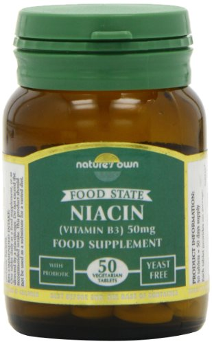 Natures Own Niacin B3 50mg 50