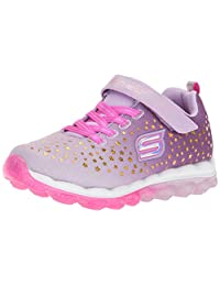 Skechers Girl's Skech-AIR - Star Jumper Sneakers, Lavender/Pink