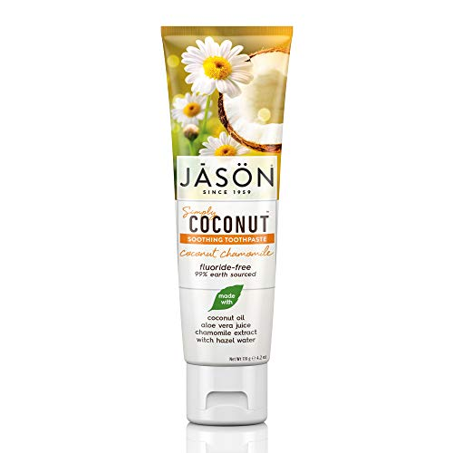 Coconut Soothing Chamomile Toothpaste Packaging product image