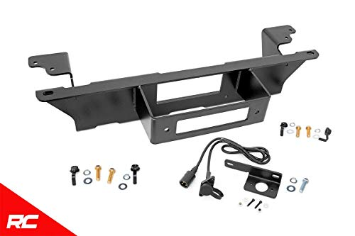 Rough Country Hidden Bumper Winch Mounting Kit Compatible w 1999-2006 Chevy Silverado GMC Sierra 1500 11002