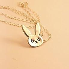 Amazon bravely default agns oblige wind vestal pendant handmade overwatch d bunny pendant necklace in sterling silver aloadofball Gallery
