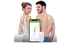 Upright GO | Posture Trainer and Corrector for Back | Strapless, Discrete and Easy to Use | Complete with App and Training Plan | Back Health Benefits and Confidence Builder