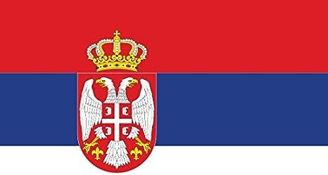 Gran Bandera de Serbia Europa 150 x 90 cm Sat/én Serbia Europe Flag