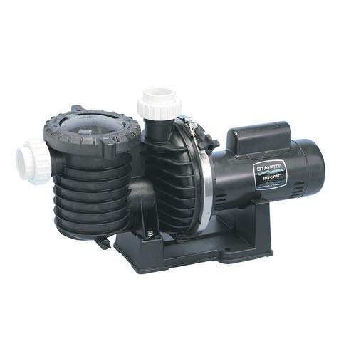 Pentair Sta-Rite P6E6E-206L Max-E-Pro Energy Efficient Single Speed Full Rated Pool and Spa Pump, 1 HP, 115/230-Volt by Pentair