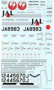 プラッツ 1/144 日本航空B777-200/300スタージェット プラモデル LU-2