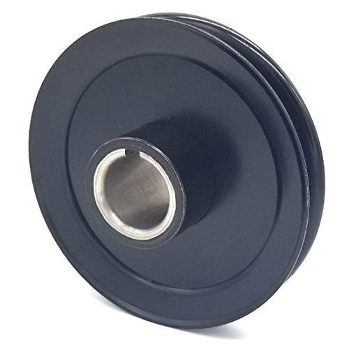 Pulley 1.125 - Phoenix Mfg. Hustler 779876 V-Groove Drive Pulley - 5'' Dia. - 1 1/8'' Bore - Steel