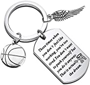 Basketball Star Memorial Gifts Basketball Players Fans Keychain Gifts 24 Inspirational Quote That is Actually