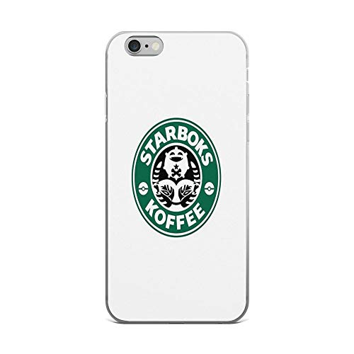 iPhone 6 Plus/iPhone 6s Plus Case Clear Anti-Scratch Starboks Koffee 2.0, Caffeine Cover Phone Cases for iPhone 6 Plus iPhone 6s Plus