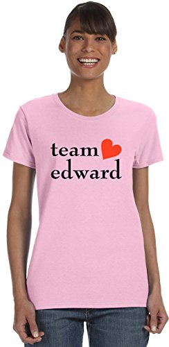 TEAM EDWARD on Women's T-Shirt~Light (Edward Light T-shirt)