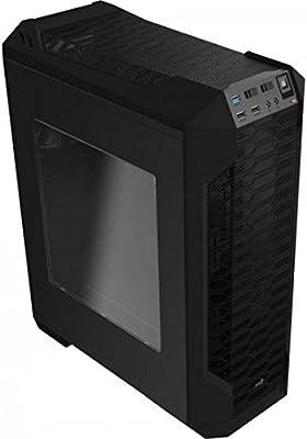 Aerocool LS5200B- Caja gaming para PC (ATX, Semitorre, incluye ...