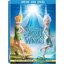 Tinker Bell: Secret Of The Wings DVD