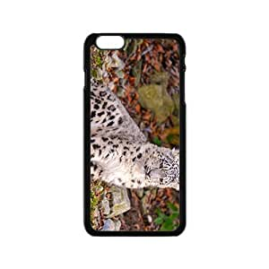 Little Snow Leopard Hight Quality Plastic Case for Iphone 6