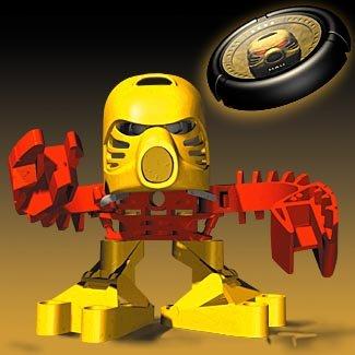 Jala 1391 – Lego McDonalds 2002 Euro Bionicle Tohunga Matoran, Baby & Kids Zone