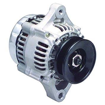 amazon com new mini denso style alternator for gm chevy bbc  12180 secn wps, alternator denso ir