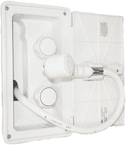 RV Exterior Shower Box Kit Hose Camper
