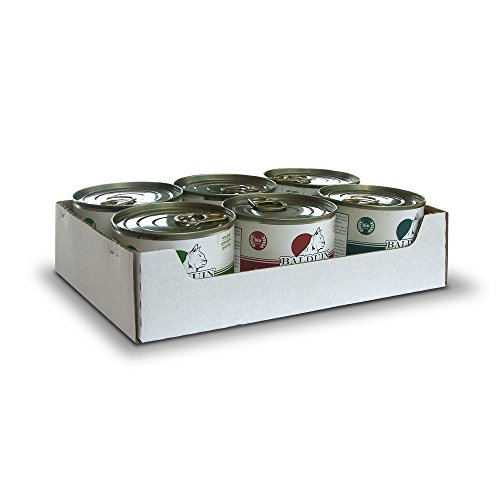 Balduin Bio-Katzenfutter (Mixtray, je 2 x 200 g Bio-Rind, Huhn und Herzen-Menü)