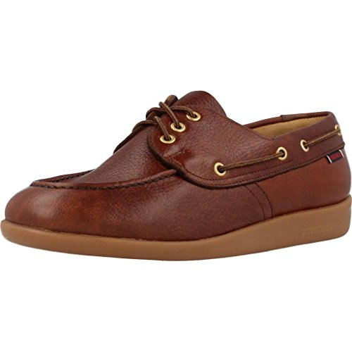 Mocassini Jobson Uomo Leather Tumbled Marrone Sebago Gary 6qZva