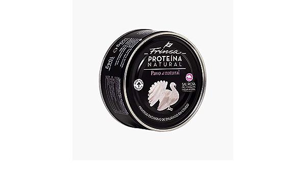 Proteína de pechuga de pavo al natural 160g Frinsa: Amazon.es ...