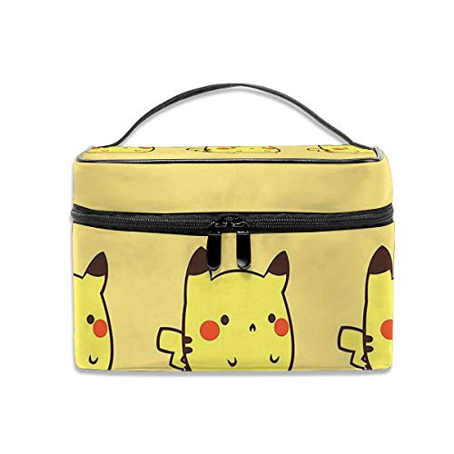 LCXjj Pikachu Multifunction Travel Makeup Case,Professional Cosmetic Makeup Bag Organizer Makeup Boxes,Toiletry Jewelry for -