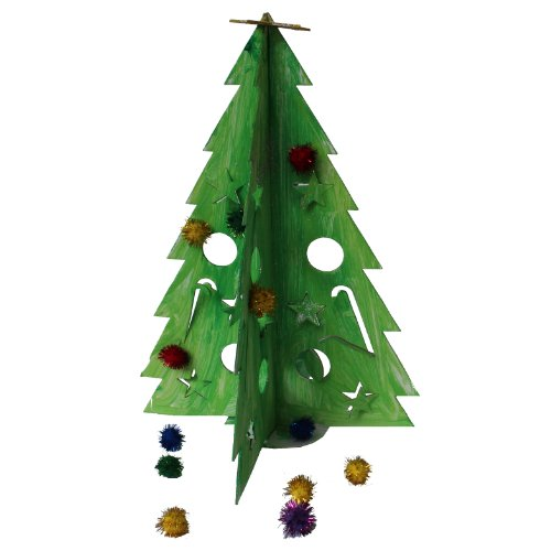 Cardboard-Tree-Doodle-Tree-Decorative-Educational-Perfect-Gift-DIY-Christmas-Activity-For-Kids