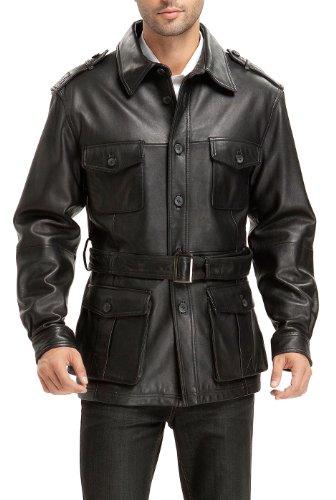 Lambskin Trench Coat (BGSD Men's