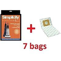 Simplicity 7 Bags Genuine HEPA HiFlow Filtration Type A SAH6