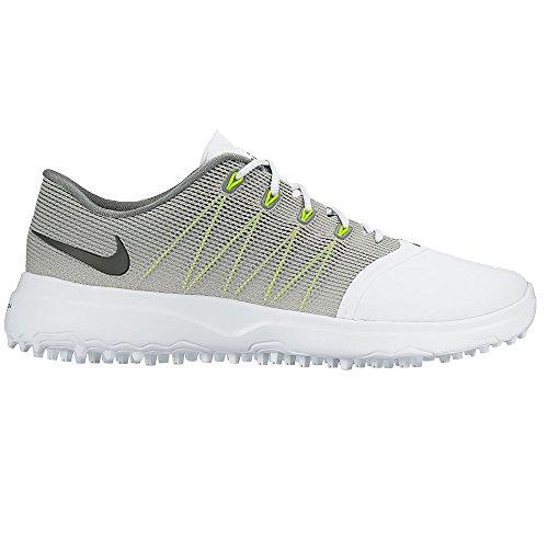 NIKE Women's Lunar Empress 2 Golf Shoes (8.5 B(M) US, White/Anthracite/Cool Grey)