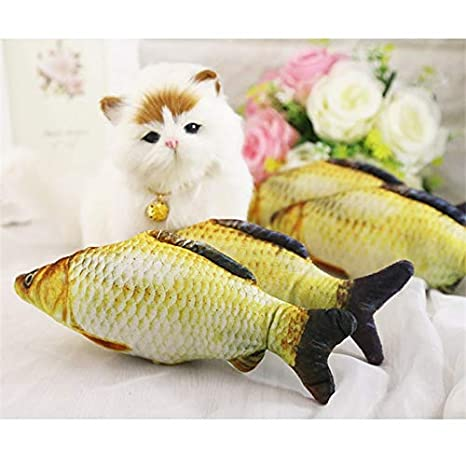 Amazon.com : HBK Fish Small Cats Toys Accessories Kitten Small Dog Products for Pets Toy Interactive Cat Supplies kedi oyuncak juguete gato : Pet Supplies
