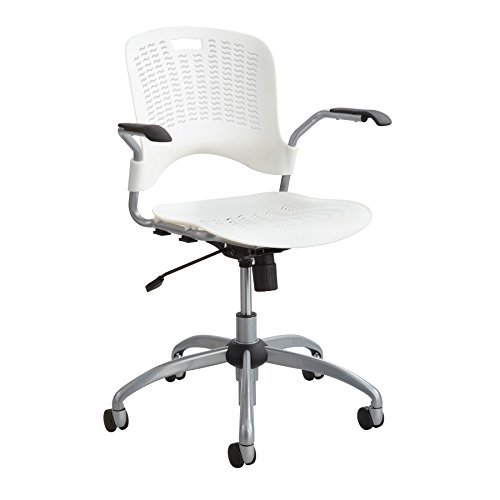 Safco Products 4182WH Sassy Manager Swivel Chair White