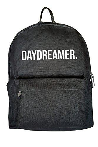 Daydreamer Drucken Rucksack Gelegenheits Schwarz Tasche