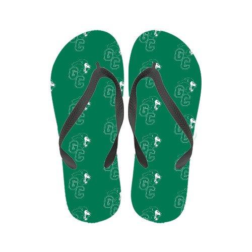 Greensboro Damer Fyrfärg Flip Flops Officiella Logotypen